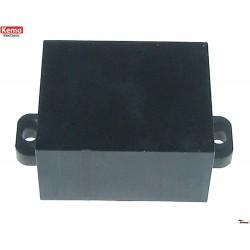 Caja miniatura para modulo electrónico, con orejas de fijación 30*25*15 mm