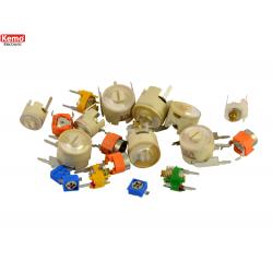 Condensador variable ceramico 20pzs
