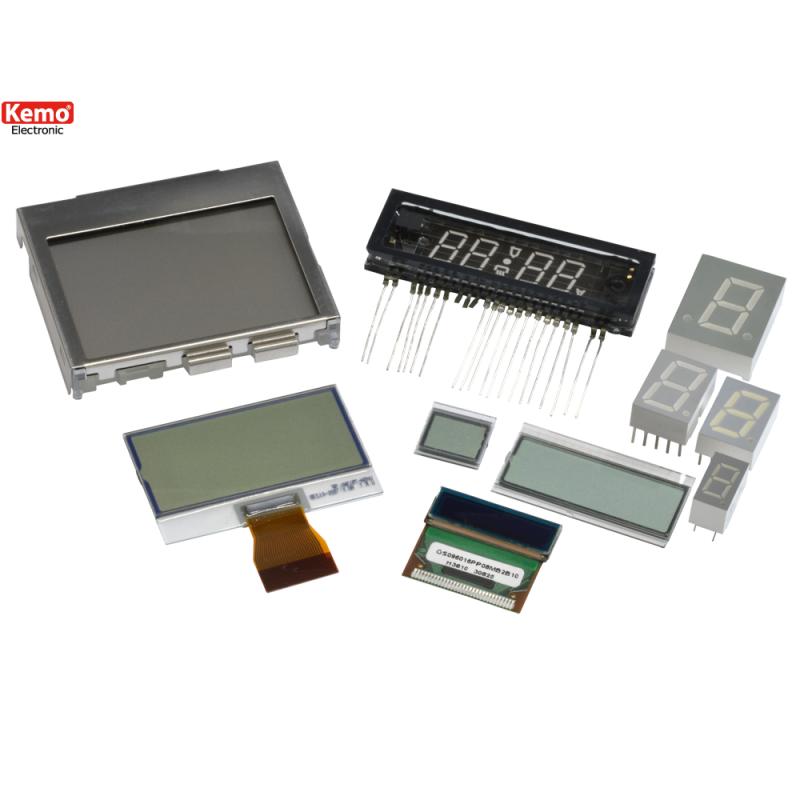 Indicador digital LED+LCD 10pzs
