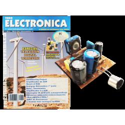Revista Todoelectronica Nº41 + Kit electrónico Amplificador personal