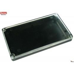 KEMO ELECTRÓNICA: Caja plana con tapa transparente