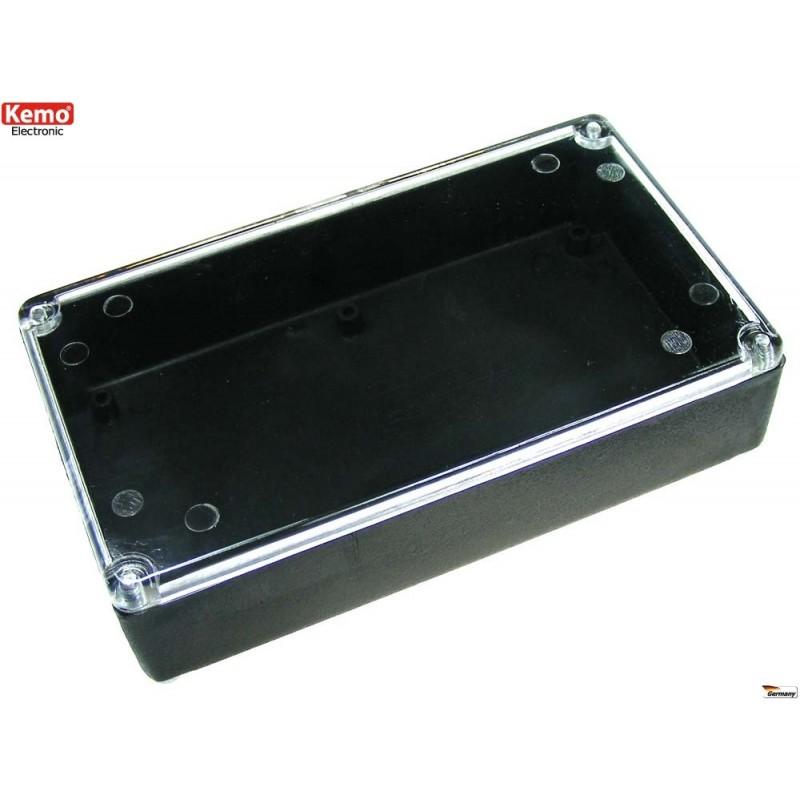 KEMO ELECTRÓNICA: Caja de cubierta transparente