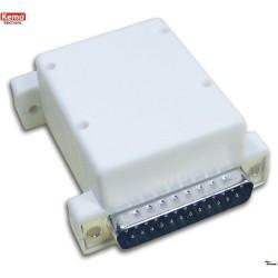 Caja para módulo de computadora, para instalación de adaptadores