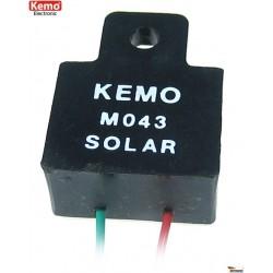 Modulo solar para proteger descarga