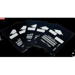 Tarjetas para el M068- 5 unidades