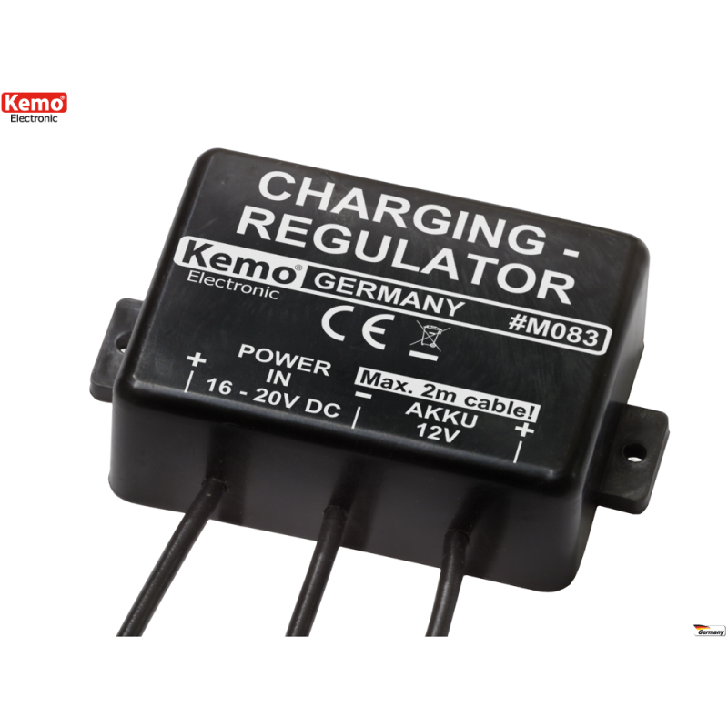 Regulador de carga para acumuladores 12V