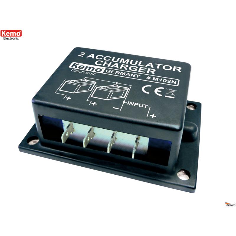 Cargador de acumulador alternativo 6 - 24 V/DC