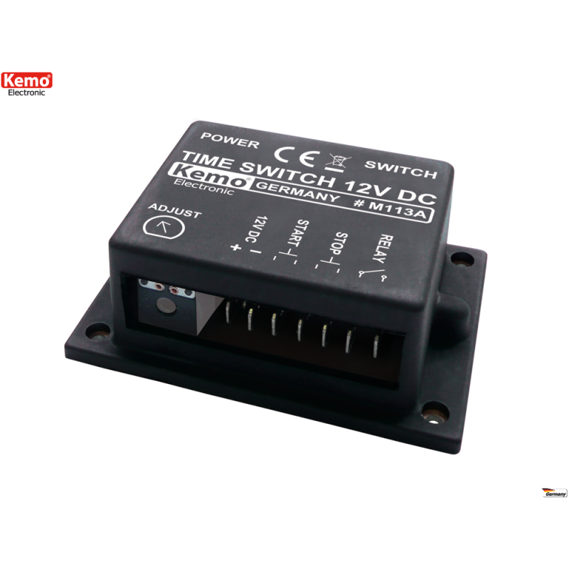 Interruptor horario 12V- Interruptor horario aprox. 1 seg. a 30