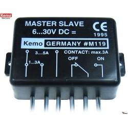 Interruptor de continuidad de corriente 6-30V DC
