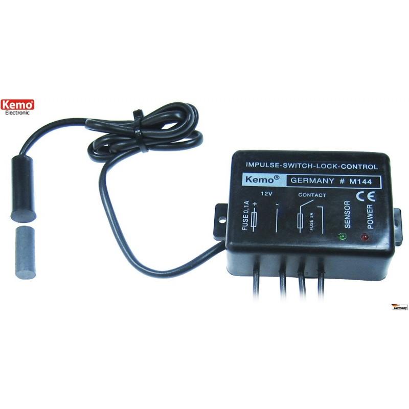 Conmutador de impulsos/control de cierre para cerraduras, puertas y cierres