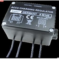 Regulador de carga solar 12 V/DC, 6 A / 10 A