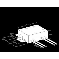 Sensor de oscuridad 230V AC, 1Kw