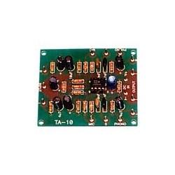 Pre Amplificador de stereo