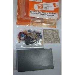 Kit para montar un Repetidor telefónico de audio transmisor y receptor