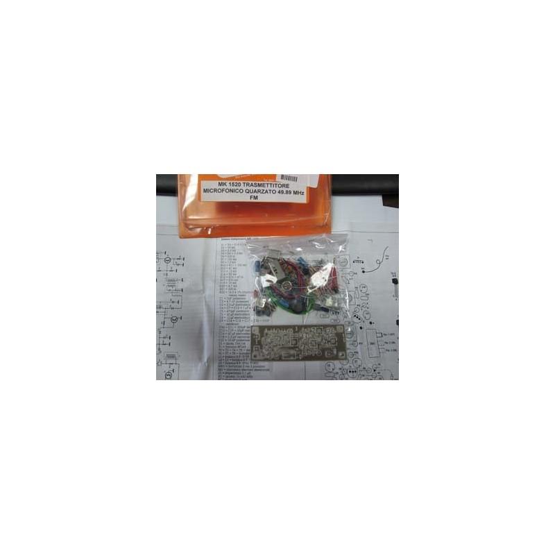MK 1520 Transmisor microfonico de cuarzo