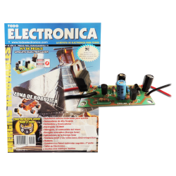 Revista Todoelectronica Nº42 + Kit electrónico Circuito electrificador