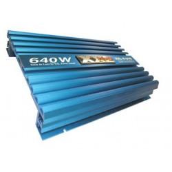 Amplificador de potencia de 640 W (4 x 160 W) potencia de salida 75 W
