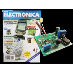 Revista Todoelectronica Nº46 + Kit electrónico Detector de llamadas telefónicas