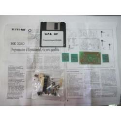 Kit para montar un Programador de EEPROM serial por puerto paralelo