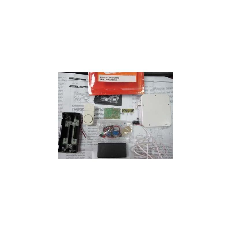 Kit para montar un sistema de Antirrobo para puertas y ventanas