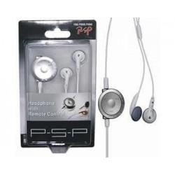 Auriculares con Control Remoto PSP