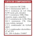 Revista Todoelectronica Nº48 + Kit electrónico Interruptor crepuscular