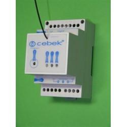 Telemando rceptor RF G3 1 canal mon/biest. 230 VCA din rail box