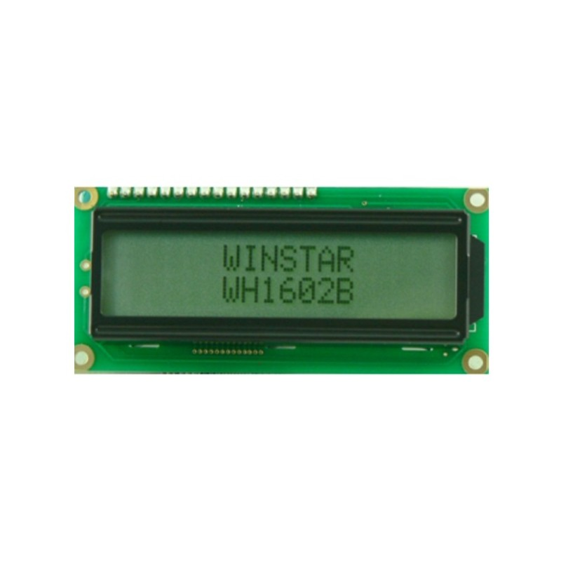Display lcd alfanumérico 16 caracteres 5,6mm