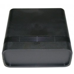 Caja para montaje ABS negro, 65x156x155 mm