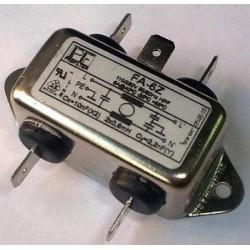 Filtro de red RFI 6A máx. 230VAC conex. terminales