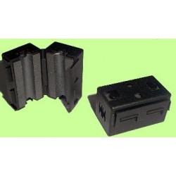 Filtro de protección EMI para cable, diámetro 6,5mm