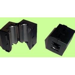 Filtro de protección EMI para cable, diámetro 10mm