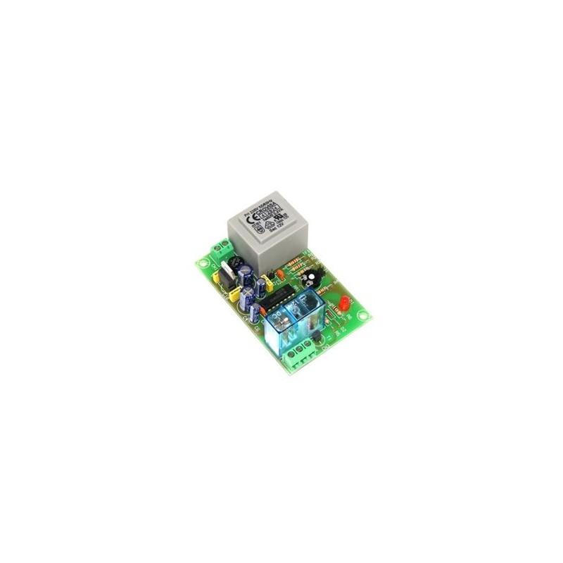 Temporizador retardador p/ marcha 2 a 45 min 230V CA