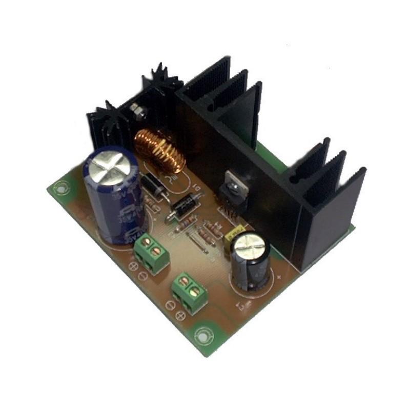 Convertidor Elevador DC-DC salida 24VDC 2A