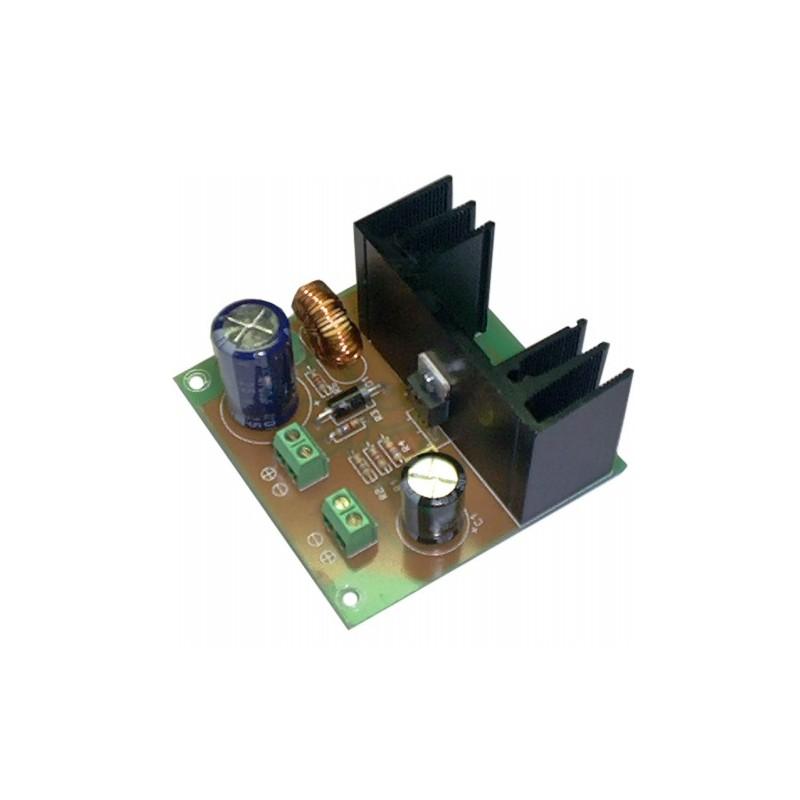 Convertidor Reductor DC-DC salida 12VDC 2,5A