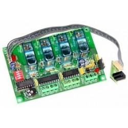 Receptor Infrarrojo 4 canales mono/biest./temp.