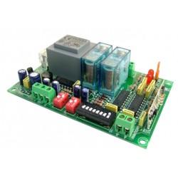 Receptor para emisores R.F.2 canal mon/biest. 230V CA
