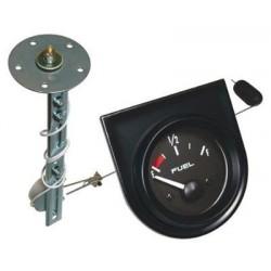 Indicador de nivel de combustible ajustable de 5' a 27' y barrido 60º