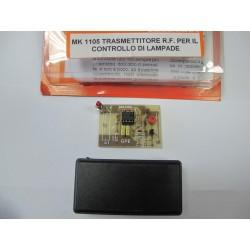 Kit para montar un Transmisor Radiofrecuencia para el control de luces