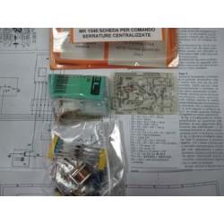 Kit electrónico para montar Tarjeta para mando cierres centralizados