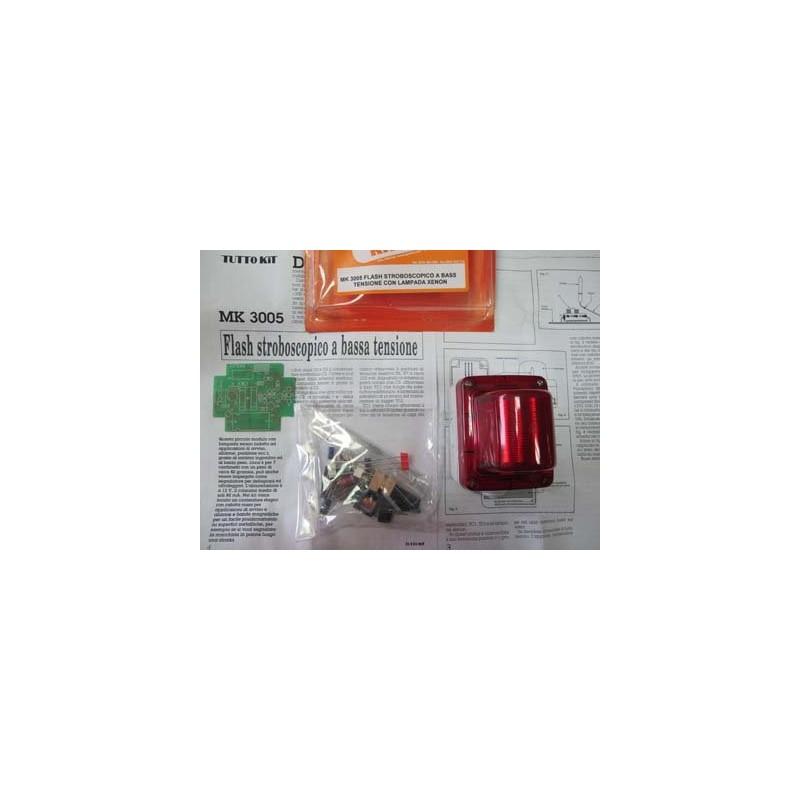 Kit para montar un Flash estroboscópico para aplicaciones de alarmas