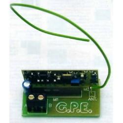 Kit de un Microtransmisor telefónico FM UHF 433.75 MHz ya montado