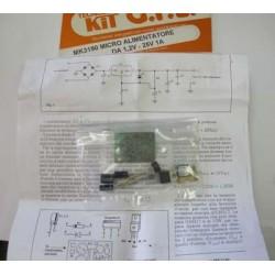 Kit para montar una Fuente de alimentación de 1,2-25 V con potencia 1A