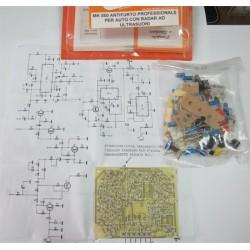 Kit para montar un Antirobo profesional para coche y radar ultrasonido