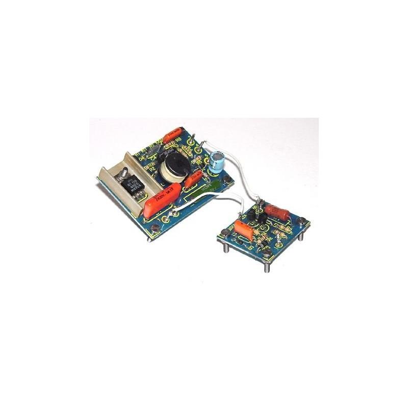 Kit electrónico para montar un regulador de intensidad de iluminación