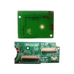 Placa de conexión Pantallas LCD y la antena Wifi NDS