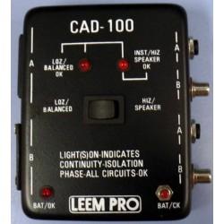 Testeador de cables Jack, RCA y conectores XLR y detecta cables rotos