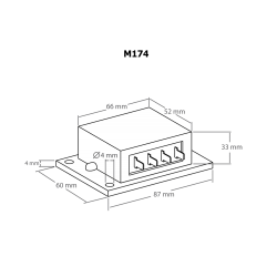 Regulador de carga solar doble 16 A