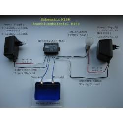 Avisador de agua 9-12 V/DC