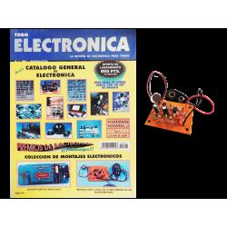 Kit electrónico para montar: mini emisora FM con micrófono + Instrucciones Nº1